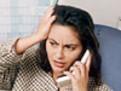 femeie stresata