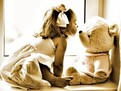 Povesti pentru copii, jucaria preferata, din copilarie, amintiri din copilarie, fetite si ursuleti, Mos Martin, ursuleti de plus
