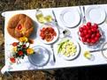 Pastele in Grecia, traditii pascale grecesti, masa de Paste la Greci