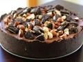 Retete dulciuri, prajituri fara coacere, prajituri rapide, tort de biscuiti cu nuci fara coacere, retete dulciuri de post, prajituri de post, tort vegan cu ciocolata, tort de post cu ciocolata, tort de post cu nuci, tort de ciocolata fara coacere, retete