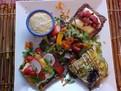 salata orientala, salata de post cu cartofi, retete de post, retete pentru post, retete fara proteine animale, retete vegan