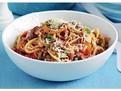 Spaghetti cu linte si masline, retete usoare de paste, retete mediteraneene, retete vegan, retete vegetariene, retete de post