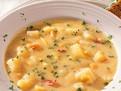 Supa aromata de cartofi
