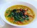 Supa curry de midii cu taietei sticlosi de fasole mung