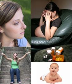 sarcina la adolescente