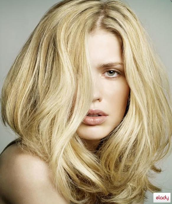Золотистый цвет волос картинки 7